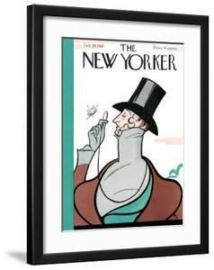 The New Yorker Cover - February 20, 1926 by Rea Irvin