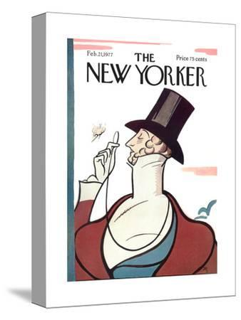 The New Yorker Cover - February 21, 1977