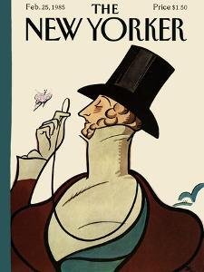 The New Yorker Cover - February 25, 1985 by Rea Irvin