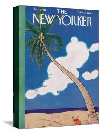 The New Yorker Cover - January 12, 1952