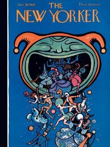 The New Yorker Cover - January 30, 1926 by Rea Irvin