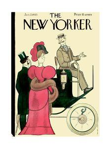 The New Yorker Cover - January 7, 1933 by Rea Irvin
