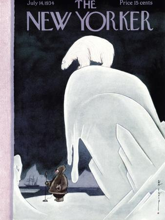 The New Yorker Cover - July 14, 1934