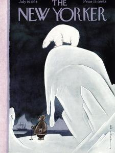 The New Yorker Cover - July 14, 1934 by Rea Irvin