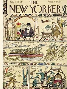 The New Yorker Cover - July 15, 1944 by Rea Irvin