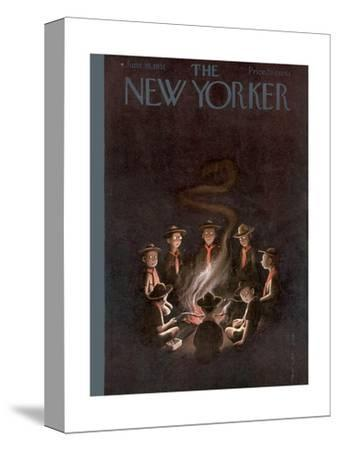 The New Yorker Cover - June 16, 1951