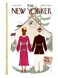 The New Yorker Cover - June 24, 1933 by Rea Irvin