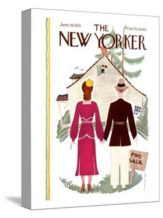 The New Yorker Cover - June 24, 1933