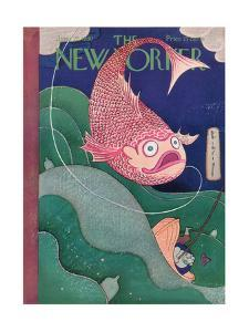 The New Yorker Cover - June 28, 1930 by Rea Irvin
