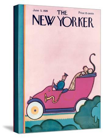 The New Yorker Cover - June 5, 1926
