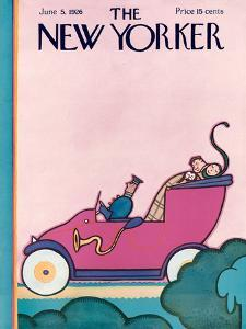 The New Yorker Cover - June 5, 1926 by Rea Irvin