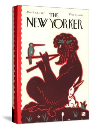 The New Yorker Cover - March 14, 1925