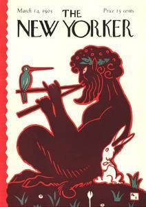 The New Yorker Cover - March 14, 1925 by Rea Irvin