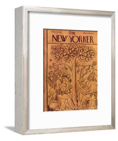 The New Yorker Cover - March 14, 1936