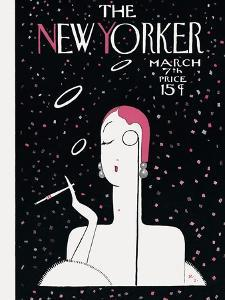 The New Yorker Cover - March 7, 1925 by Rea Irvin