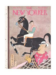 The New Yorker Cover - May 17, 1930 by Rea Irvin