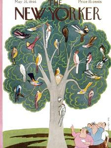 The New Yorker Cover - May 25, 1946 by Rea Irvin