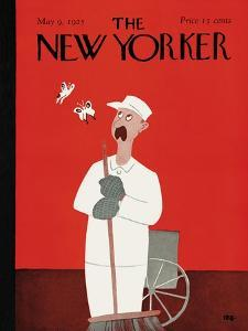 The New Yorker Cover - May 9, 1925 by Rea Irvin