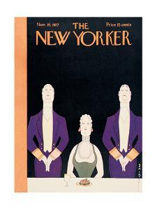 The New Yorker Cover - November 19, 1927 by Rea Irvin