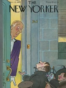 The New Yorker Cover - November 22, 1941 by Rea Irvin