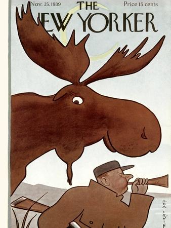 The New Yorker Cover - November 25, 1939