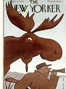 The New Yorker Cover - November 25, 1939 by Rea Irvin