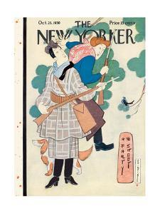 The New Yorker Cover - October 25, 1930 by Rea Irvin