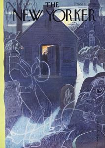 The New Yorker Cover - October 29, 1949 by Rea Irvin