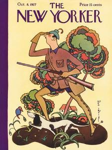 The New Yorker Cover - October 8, 1927 by Rea Irvin