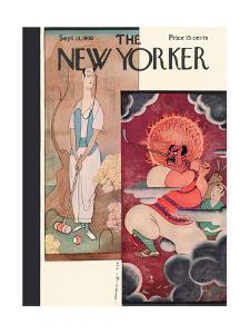 The New Yorker Cover - September 13, 1930 by Rea Irvin