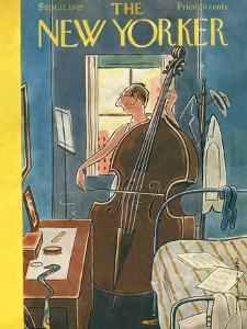 The New Yorker Cover - September 17, 1949 by Rea Irvin