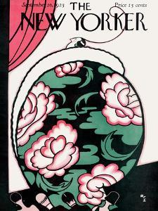 The New Yorker Cover - September 26, 1925 by Rea Irvin