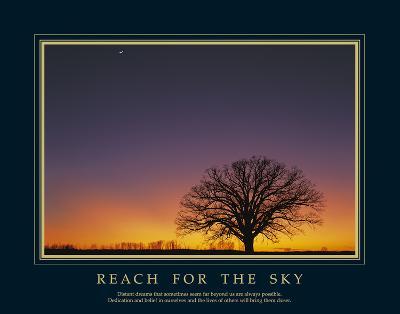 Reach For the Sky-Adam Brock-Art Print