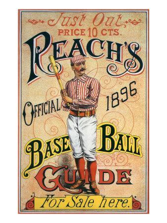 Reach's Official Baseball Guide, 1896--Giclee Print