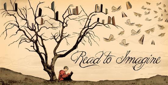 Read to Imagine-Jeanne Stevenson-Art Print