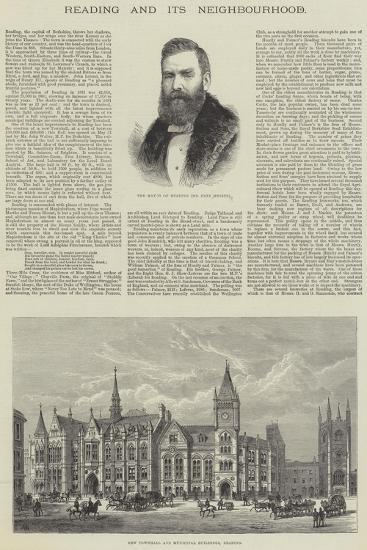 Reading and its Neighbourhood-Frank Watkins-Giclee Print