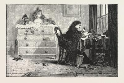 Reading for a Degree. 1876--Giclee Print