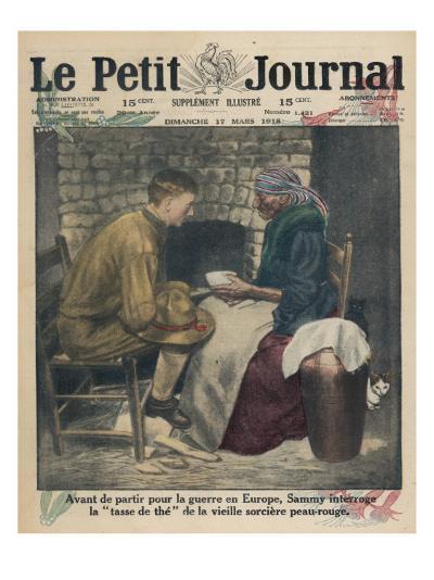 Reading Tea Leaves--Giclee Print