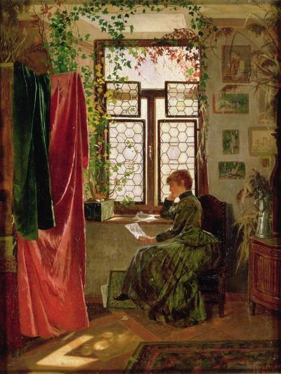 Reading the Letter-Peter Kraemer-Giclee Print
