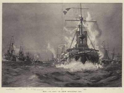 Ready! Aye, Ready! the British Mediterranean Fleet--Giclee Print