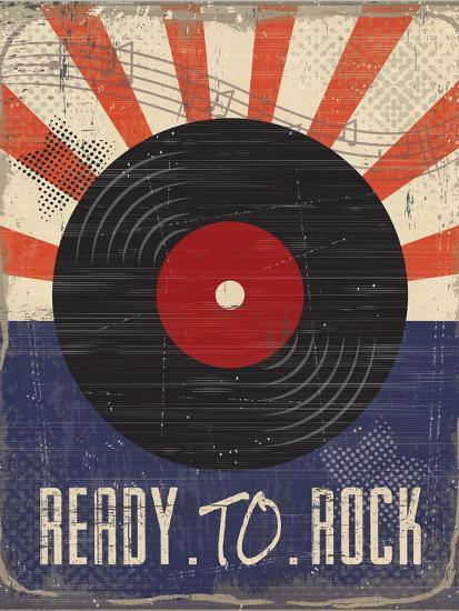 Ready to Rock-ND Art-Premium Giclee Print