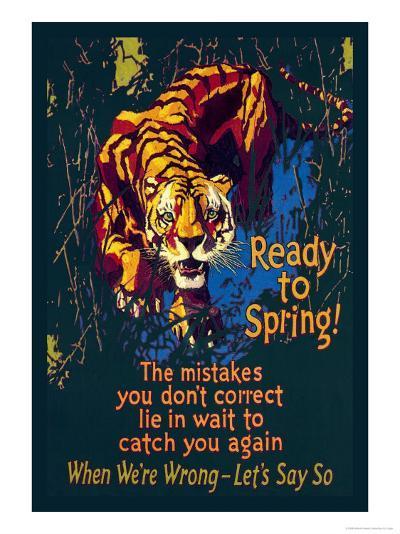 Ready to Spring!-Willard Frederic Elmes-Art Print