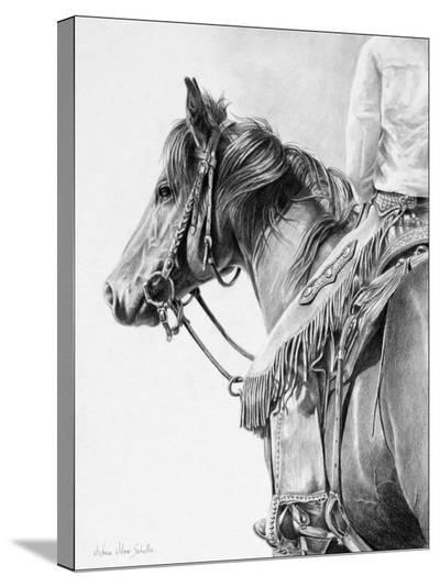 Ready Wlling and Able-Victoria Schultz-Stretched Canvas Print