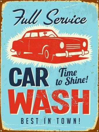 Vintage Design -  Car Wash