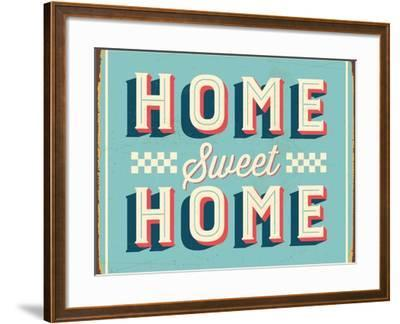 Vintage Design -  Home Sweet Home