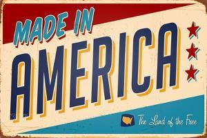 Vintage Design -  Made In America by Real Callahan