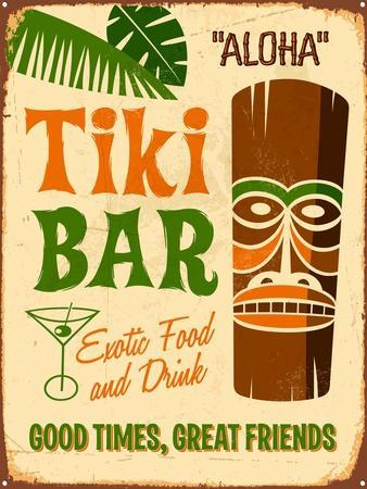 Vintage Design -  Tiki Bar