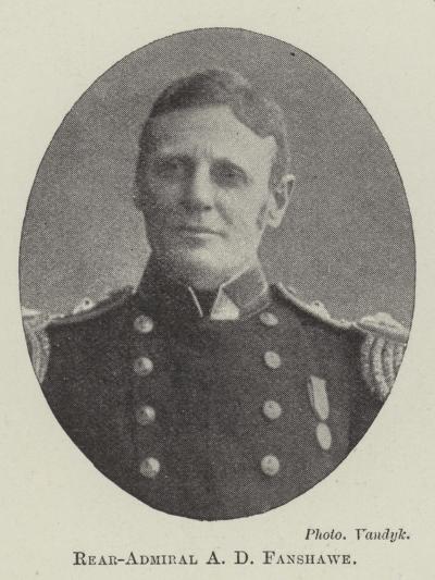 Rear-Admiral a D Fanshawe--Giclee Print