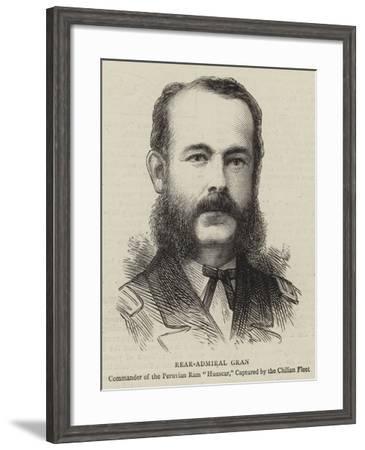 Rear-Admiral Gran--Framed Giclee Print