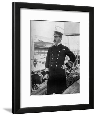 Rear-Admiral Henry Bury Palliser, Commander of the British Pacific Fleet, 1896-A Debenham-Framed Giclee Print